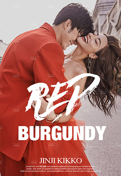 勃艮第红 BURGUNDY RED